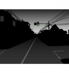 Urban scene vector