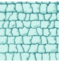 ice brick seamless pattern vector image