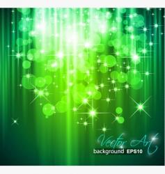 magic waterfall vector image vector image