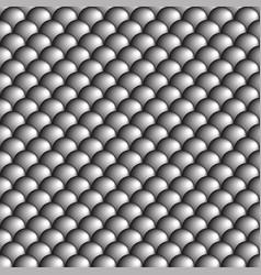 black gray and white circles vector image