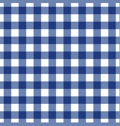 Blue tablecloth pattern design vector
