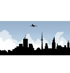 cityscape skyline vector image