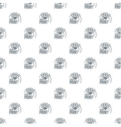 color print pattern seamless vector image
