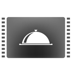 food cover icon vector image
