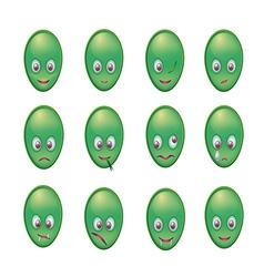 Green men series 001 vector