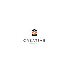 Home property build creative business logo design vector