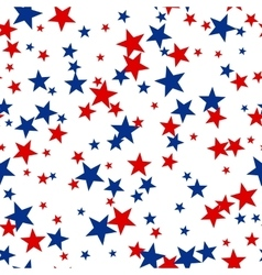 Patriotic American Seamless Pattern vector
