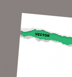 Torn paper reveal min vector