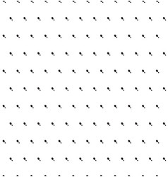 black spots on white background seamless pattern vector image