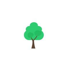 flat icon tree element of vector image