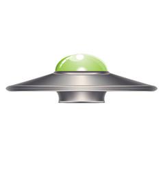 flying saucer design vector image