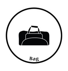 Icon of Fitness bag vector