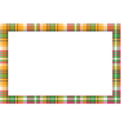 Rectangle frame vintage pattern design template vector