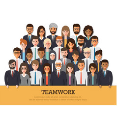Working people vector