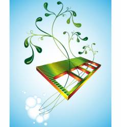 greenery vector image vector image