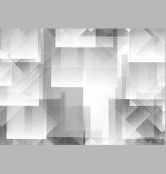 abstract geometric overlap background modern vector image