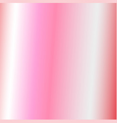 Abstract gradient rose gold color metallic sheep vector