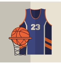 Basketball icon design vector image