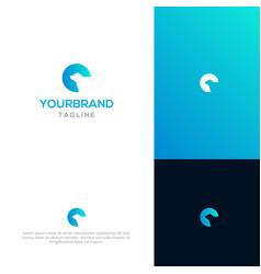 bear logo template vector image