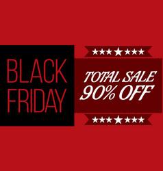 Black friday shopping sale concept vector