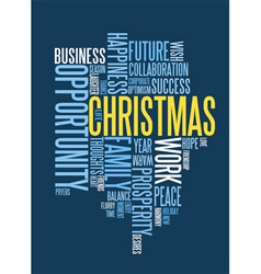 Corporate christmas card royalty free vector image christmas card vector image reheart Images
