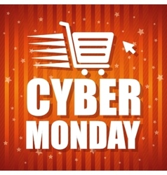 Cyber mondays e-commerce promotions and sales vector image