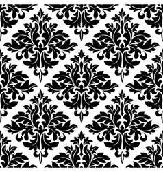 Damask dainty seamless pattern vector