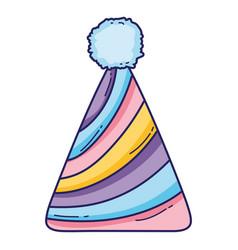 fairy hat cartoon vector image