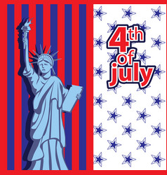 for holiday independence day vector image