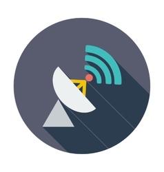 Satellite antenna vector