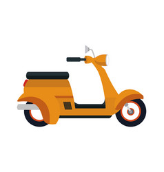 Scooter motorcycle icon vector
