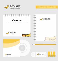 sparrow logo calendar template cd cover diary and vector image