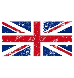 the flag Great Britain vector image
