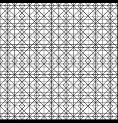pattern of lines and triangles vector image