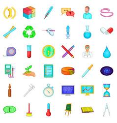 development icons set cartoon style vector image