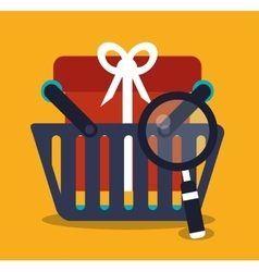Gift and digital marketing design vector