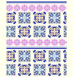 ornament ethnic geometric ornamental background vector image