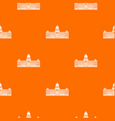 Palace of congress argentina pattern seamless vector