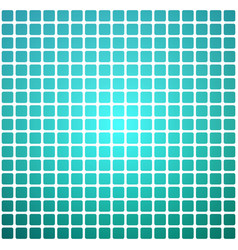 turquoise shades rounded mosaic background over vector image
