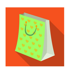 gift package with beautiful patterns stars and vector image vector image