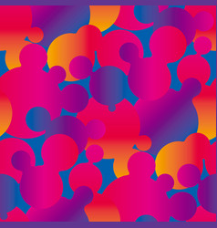 abstract vivid colorful gradient seamless pattern vector image