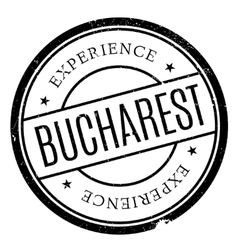 Bucharest stamp rubber grunge vector