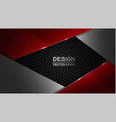 design trendy and technology concept frame border vector image