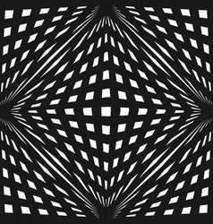 geometric seamless pattern with crossing lines vector image
