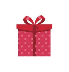 Gift logo background vector