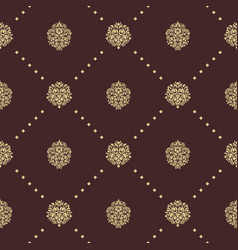 Royal baroque seamless pattern vector