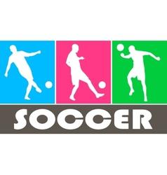 Soccer design vector