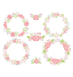 Wreath Set vector image