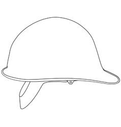 Hard hat vector image vector image