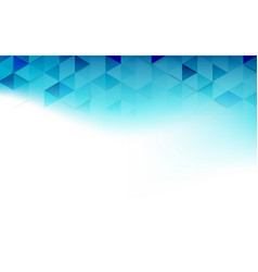 abstract blue and white triangles repeating vector image
